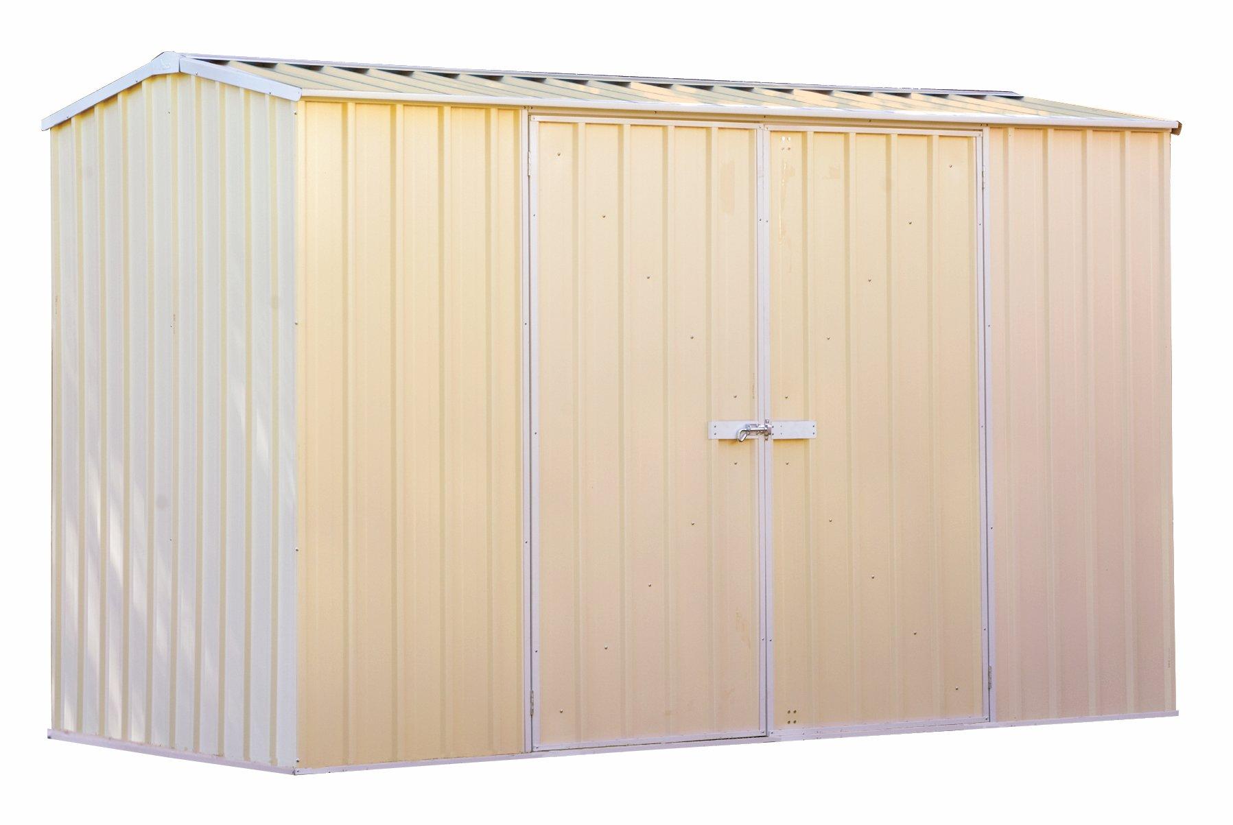 Garden Sheds 5m X 3m premier garden shed - 3m wide x 1.52m deep - colorbond - shedspot